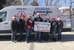 American Built Clothing Spreads Some Christmas Cheer with Operation Stoplight.