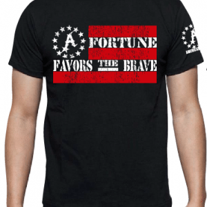 Fortune Favor's The Brave Tee's & Pullover Hoodie's